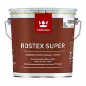 Tikkurila Rostex Super (Тиккурила Ростекс Супер) 3.0 л светло-серый - противокоррозионная грунтовка