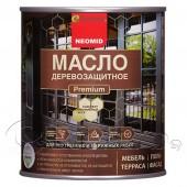 Масло деревозащитное Premium с натуральным воском NEOMID (Неомид)