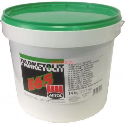PARKETOLIT (Паркетолит) E65 однокомпонентный MS клей для паркета.