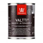 Tikkurila Valtti Kaluste (Тиккурила Валтти Калусте) 0.9 л  - масло для дерева и террас, чёрное