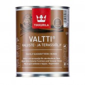 Tikkurila Valtti Kaluste (Тиккурила Валтти Калусте) 0.9 л  - масло для дерева и террас, коричневое