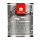 Tikkurila Valtti Kaluste (Тиккурила Валтти Калусте) 0.9 л  - масло для дерева и террас, серое