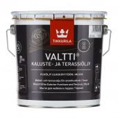 Tikkurila Valtti Kaluste (Тиккурила Валтти Калусте) 2.7 л  - масло для дерева и террас, чёрное