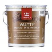 Tikkurila Valtti Kaluste (Тиккурила Валтти Калусте) 2.7 л  - масло для дерева и террас, коричневое