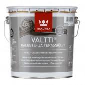 Tikkurila Valtti Kaluste (Тиккурила Валтти Калусте) 2.7 л  - масло для дерева и террас, серое
