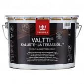 Tikkurila Valtti Kaluste (Тиккурила Валтти Калусте) 9.0 л  - масло для дерева и террас, чёрное