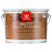 Tikkurila Valtti Kaluste (Тиккурила Валтти Калусте) 9.0 л  - масло для дерева и террас, коричневое