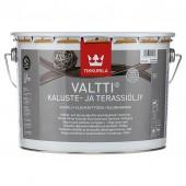 Tikkurila Valtti Kaluste (Тиккурила Валтти Калусте) 9.0 л  - масло для дерева и террас, серое