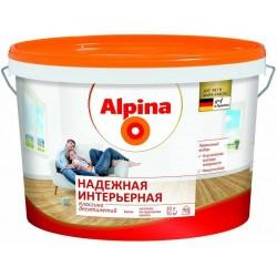 Краски для внутренних работ Alpina