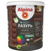Alpina (Альпина) аква лазурь для дерева