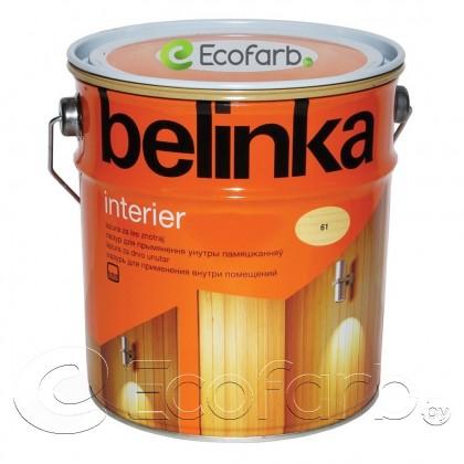 Belinka Interier лазурь на водной основе