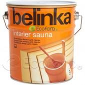 Belinka Interier Sauna лазурь на водной основе