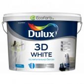 Краска Dulux 3D White Матовая водно-дисперсионная краска для стен и потолков 10 л
