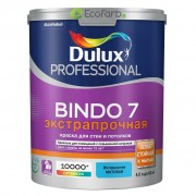 Dulux Bindo 7 Матовая краска для стен и потолков 4,5 л База BW