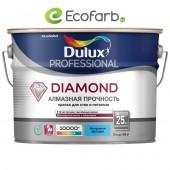 Dulux Diamond Matt Матовая износостойкая краска для стен и потолков BW 10,0 л