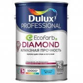 Dulux Diamond Matt Матовая износостойкая краска для стен и потолков BC 4,5 л