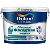 Dulux (Дулюкс) Diamond Фасадная Гладкая Матовая краска для фасадных поверхностей BW 10 л
