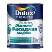 Dulux (Дулюкс) Diamond Фасадная Гладкая Матовая краска для фасадных поверхностей BC 0,9 л
