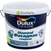 Dulux (Дулюкс) Diamond Фасадная Гладкая Матовая краска для фасадных поверхностей BC 4,5 л