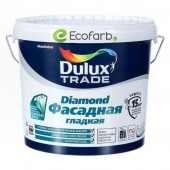 Dulux (Дулюкс) Diamond Фасадная Гладкая Матовая краска для фасадных поверхностей BM 4,8 л