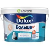 Dulux Больше м2  - глубокоматовая краска-концентрат для стен и потолков.