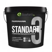 Farbmann Standart 3 - совершенно матовая латексная краска База A