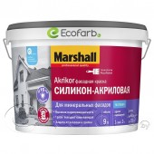 Marshall Akrikor Силикон-акриловая (Маршалл) фасадная краска