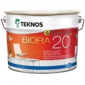 Teknos Biora 20 полуматовая краска для стен и потолков