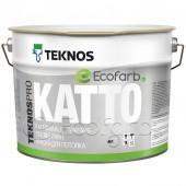 Teknos Teknospro Katto матовая краска для потолка