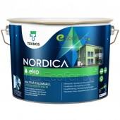 Teknos Nordica Eko краска для деревянных фасадов на водной основе