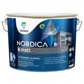 Teknos Nordica Matt краска для деревянных фасадов на водной основе