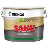 Teknos SAKU цокольная краска на водной основе