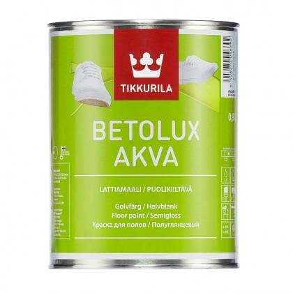 Tikkurila Betolux Akva 0.9 л - краска для полов