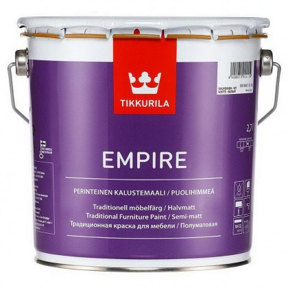 Tikkurila Empire 2.7 л - краска для мебели