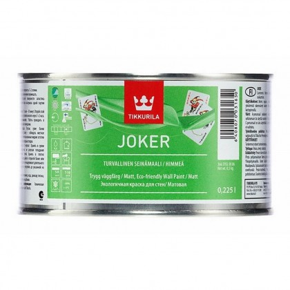Tikkurila Joker 0,225 л база C - краска для интерьера