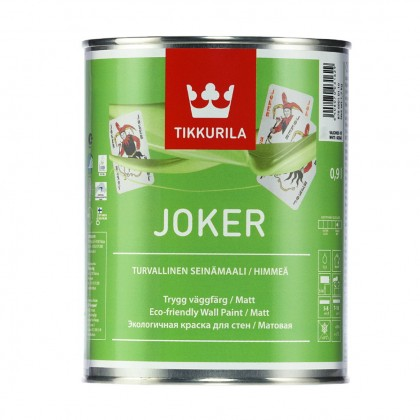 Tikkurila Joker 0,9 л база C - краска для интерьера