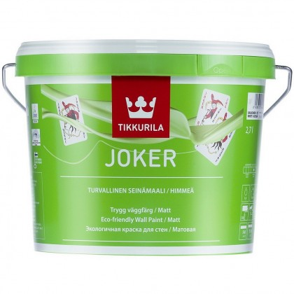Tikkurila Джокер - Joker краска для интерьера 2,7л А