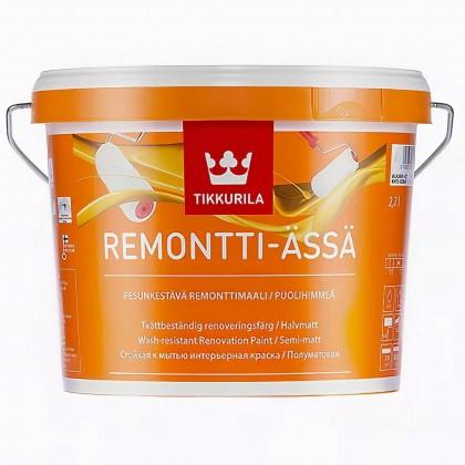 Tikkurila Remontti-Assa 2,7 л база C - латексная краска