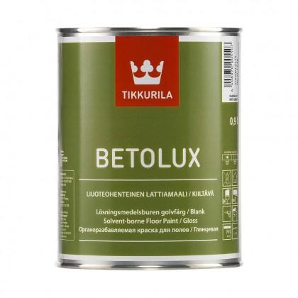Tikkurila Betolux 0.9 л - краска для полов