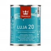 Tikkurila Luja 20 (Тиккурила Луя 20) 0,9 л база C - покрывная краска, полуматовая