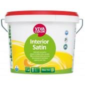 Interior Satin – шелковисто-матовая краска для стен