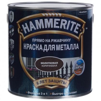 Hammerite (Хаммерайт) – краска для металла с эффективной формулой 3 в 1 2,5 л