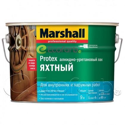 Лак Marshall Protex (Маршалл Протекс) Яхтный полуматовый