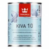 Tikkurila Kiva 10 (Тиккурила Кива 10) 0.9 л - лак для мебели, матовый