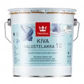 Tikkurila Kiva 10 (Тиккурила Кива 10) 2.7 л - лак для мебели, матовый