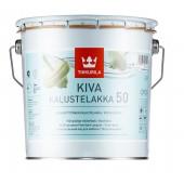 Tikkurila Kiva 50 (Тиккурила Кива 50) 2.7 л - лак для мебели, полуглянцевый