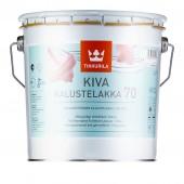 Tikkurila Kiva 70 (Тиккурила Кива 70) 2.7 л - лак для мебели, глянцевый