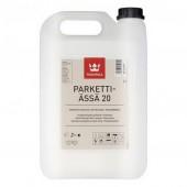 Tikkurila Parketti-Assa 20 (Тиккурила Паркетти-Ясся 20) 5.0 л - лак для пола, полуматовый