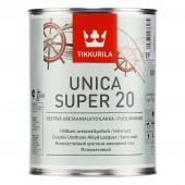 Tikkurila Unica Super 20 (Уника Супер) полуматовый лак 0,9 л
