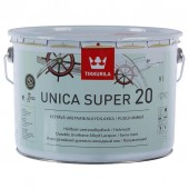 Tikkurila Unica Super 20 (Уника Супер) полуматовый лак 9,0 л